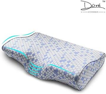 ブルー 令和元年新睡眠新体験 Dore 低反発 安眠 健康枕 肩こり