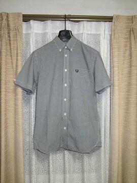FRED PERRY フレッドペリー 半袖ボタンダウンシャツ