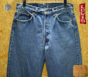 ◆廃盤◆米国80年代製リーバイス501・W30(80cm)・股下76cm