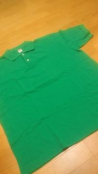 UnitedーAthle 半袖ポロシャツ カノコ素材 緑 サイズXXL 2XL
