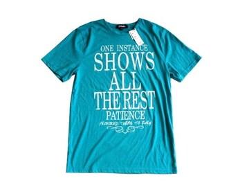 新品 メンズ ghetto ロゴ Tシャツ 英字 紳士 M 半袖