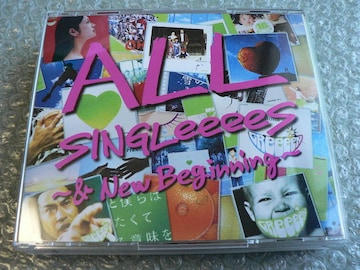 GReeeeN/ALL SINGLeeeeS-&New Beginning【2CD+2DVD】初回限定盤