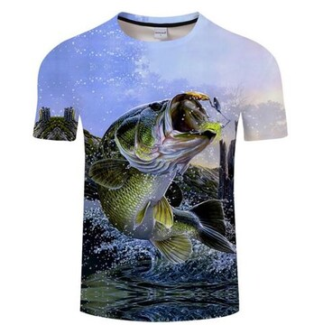 Tシャツ!躍動感!バス!速乾!!かっこいい!XXLサイズ新品