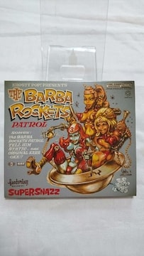 美品CD!! The BARBA ROCKETS PATROL スーパースナッズ