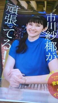 ☆市川紗椰グラビア雑誌からの切り抜き