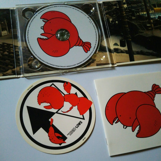 CD THE HIGH-LOWSアルバムロブスター〒送料無料 < タレントグッズの