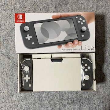 ★Nintendo Switch Lite 本体 グレー★  ※新品未使用品※