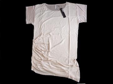 新品 定価4725円 MURUA ムルーア サテン使いTシャツワンピース