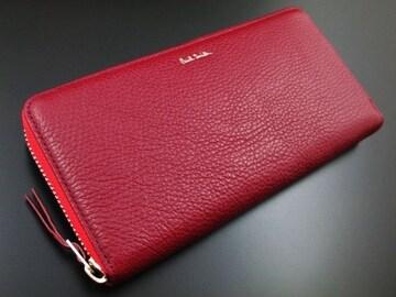 新品☆ポールスミス 人気カラーデザイン 長財布 ワイン n200