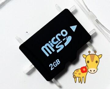 送料無料 新品 ノーブランド マイクロSD 2GB microSD 初期不良保証します