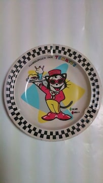 当時物 クリームソーダtemmyeブリキ製灰皿creamsoda1980年代ピンクドラゴンレア