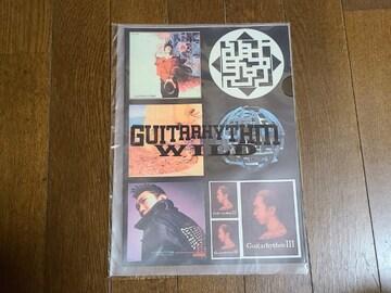 送料無料/布袋寅泰GUITARHYTHM WILD TOURオフィシャルステッカーセット