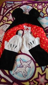 新品 ミッキー 帽子 手袋付き(^ω^)