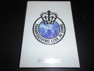 【DVD】 THANKSGIVING LIVE IN DOME 2枚組