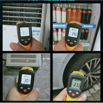 赤外線温度計 サーモメーター 表面温度計 デジタル