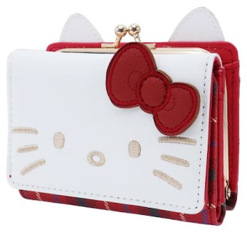 ハローキティ★ミニ口金財布(がまぐち)キティ財布/ウォレット