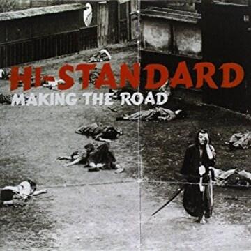 オマケ付 Hi-STANDARDハイスタ 海外盤「MAKING THE ROAD」crows収録