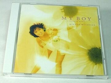 渡辺美奈代CD MY BOY マイボーイ 廃盤