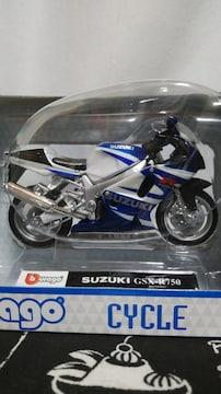 SUZUKI GSX-R750  1/18スケールモデル(リユース)