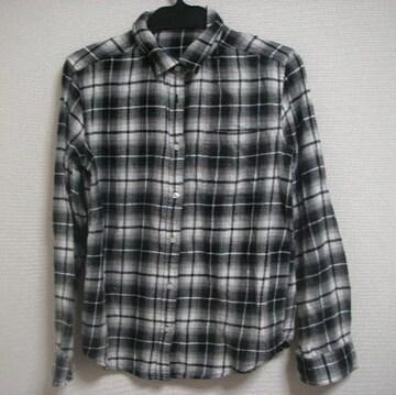 GU ジーユー 長袖 シャツ M