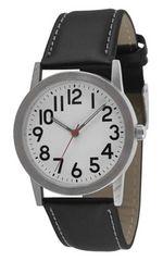シンプルデザインで見やすさ重視♪メンズ アナログ腕時計