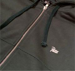 Patta Basic Zip Hooded Sweater 緑 XL