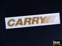 軽トラ野郎必見! キャリー(CARRY)ステッカー 軽四 旧車 痛車
