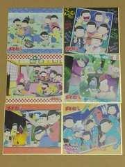 【おそ松さん】トレーディングミニ色紙(6枚セット)