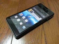 特価品!!美中古品 SO-01E Xperia AX ブラック LTE Xi