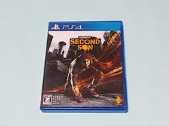 PS4ソフト inFAMOUS SECOND SON インファマス セカンドサン 送料込み 即決