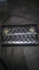 正規品【美品】クロム・ハーツ キルティングウォレットWAVE財布 ウォレット