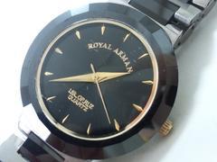 9016/ロイヤルアルマーニ★18K仕様定価20万円位メンズ腕時計格安出品
