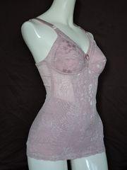 新品!B80Lピンク色ジャガード織ボディシェイパー