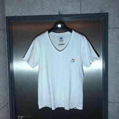 gdc rottweilerロットワイラー/半袖ポケットTシャツ/白M