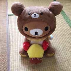 非売品。くじラストワン賞・リラックマ&キイロイトリぬいぐるみ