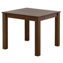 ダイニングテーブル(2人掛け80cm幅)ブラウン LUM70-80T_BR