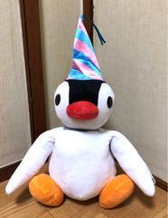 ■感謝祭!!Pingu/ピング-/ピンガ*ぬいぐるみ(パ-ティ-.ver)☆26�p■