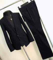 884-3■新品LLトルネードマート3ピースドレススーツ紺