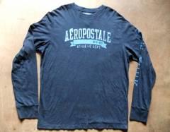 Aeropostale エアロポステール長袖Tシャツ XL ネイビー 紺
