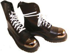 ドクターマーチン新品10ホールブーツ安全靴 スチール16152001