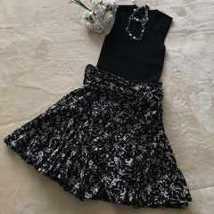 大人可愛い素敵なスカート お色も綺麗 スタイル抜群には変身♪