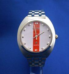 カジュアルメタルウォッチGO[-ユニセックス腕時計