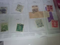 古い使用済み切手ペーパーオフ8枚 �B
