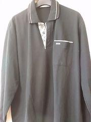 黒 長袖ポロシャツ レターパック360