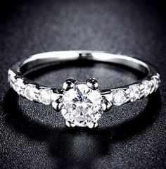 特A品 新品1円〜★送料無料★ 12号 ダイヤモンド波 エクセレントカット指輪