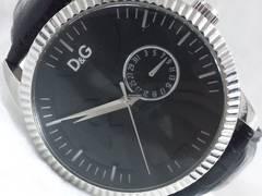 2999復活祭★ドルチェ&ガッバーナD&G☆ビックフェイスDGダイヤルメンズ腕時計!