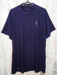アンダーアーマー 野球 ステルス半袖モックシャツ XXL 紺