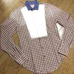 美品ZARA MAN デザインシャツ ザラ