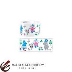 【ムーミン ミイ スナフキン】可愛い手帳カレンダーラッピング♪マスキング ファンテープ