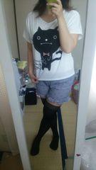 [中古]ブサ可愛*猫チャンTシャツ